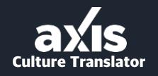 Axis Culture Translator Image link